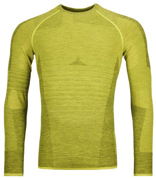 Ortovox Competition Long Sleeve M - maglietta tecnica maniche lunghe - uomo - Light Green