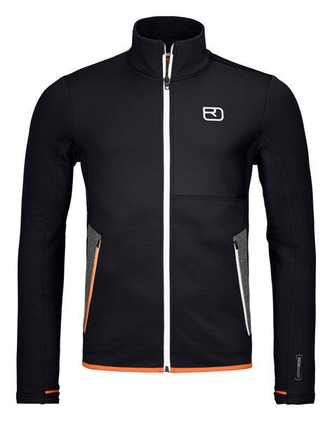 Ortovox Fleece Jacket - felpa in pile - uomo - Black
