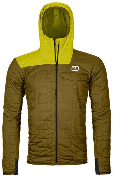 Ortovox Swisswool Piz Badus - giacca isolante - uomo - Green