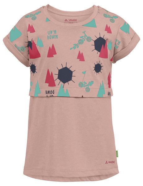 Vaude Tammar - T-shirt - bambina - Pink