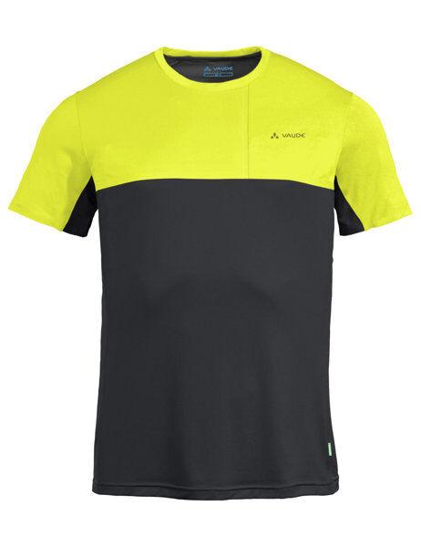 Vaude Scopi - t-shirt - uomo - Yellow/Black