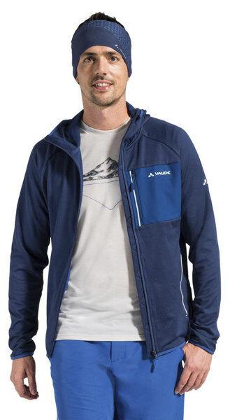 Vaude Tekoa - giacca in pile - uomo - Navy/Blue