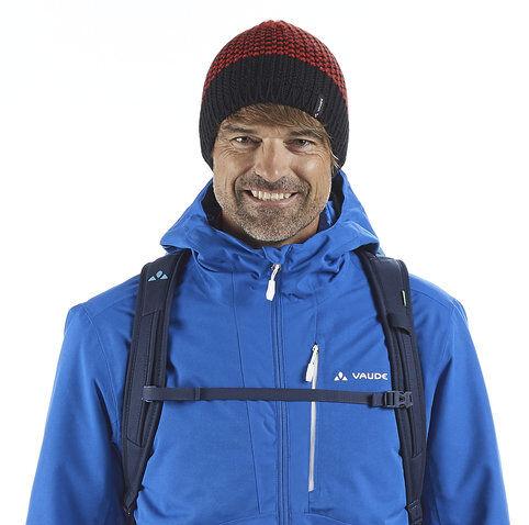 Vaude Melbu - berretto - uomo - Red/Blue