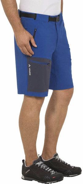 Vaude Badile - pantaloni corti trekking - uomo - Light Blue/Blue