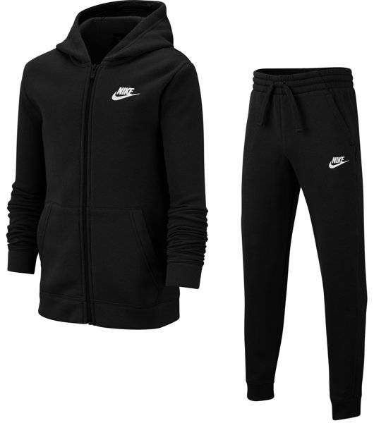 Nike Sportswear - tuta sportiva - ragazzo - Black/White