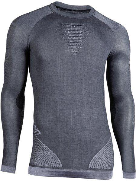 Uyn Cashmere Shiny - maglietta tecnica - uomo - Dark Grey