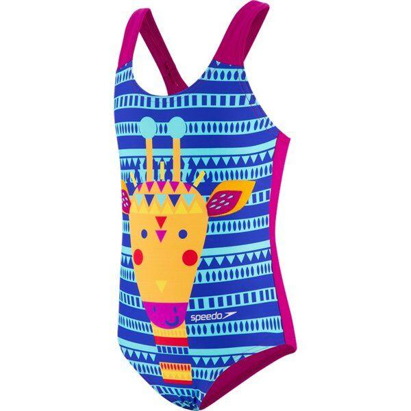 Speedo JungleGina - costume intero - bambina - Multicolor