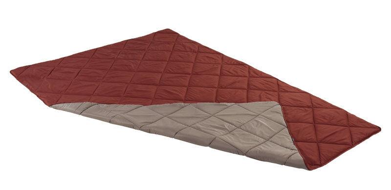 Vaude Plangge 400 - sacco a pelo sintetico - Red