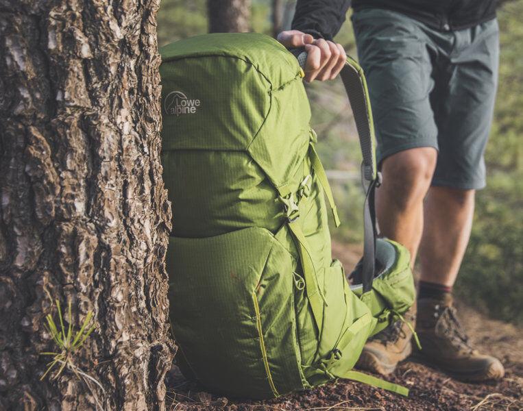 Alpine Altus 52+5 - zaino trekking - Green