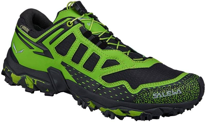 Salewa Ultra Train GTX - scarpe trail running - uomo - Black/Green