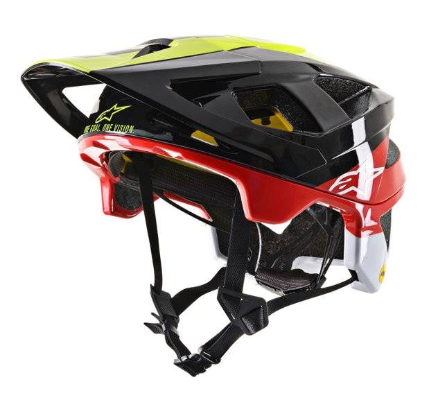 Alpinestars Vector Tech - casco bici MTB - Black/Red