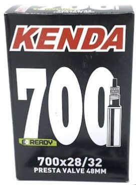 Kenda 700X28/32 Gravel - camera d'aria - Black