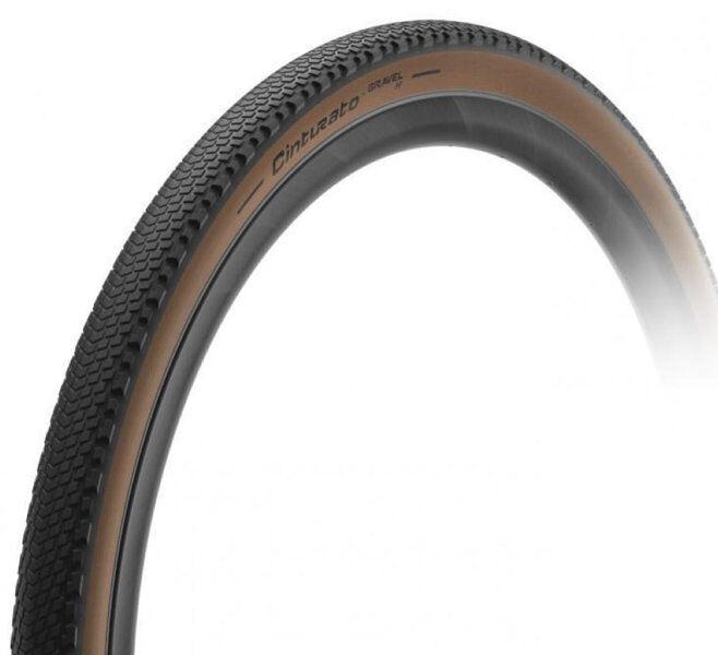Pirelli Cinturato Gravel H Classic TLR - pneumatico gravel - Black/Brown