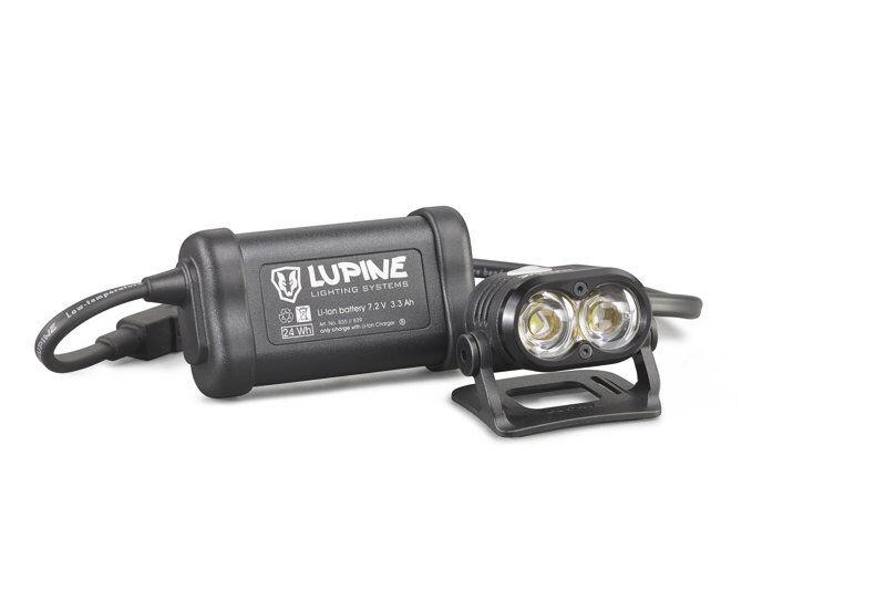 Lupine Piko 4 - lampada per casco bike - Black