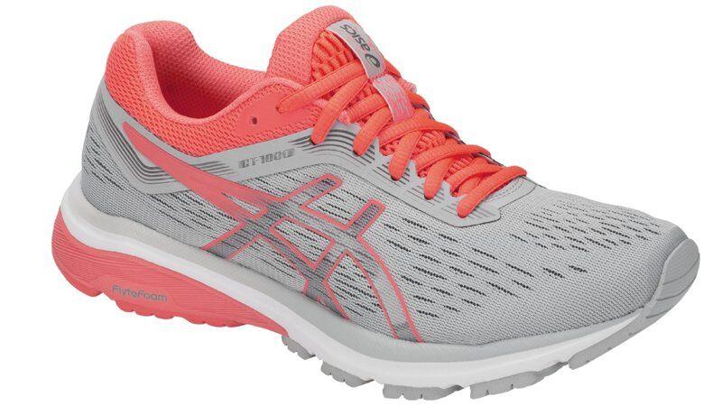Asics GT-1000 7 W - scarpe running stabili - donna - Grey/Coral