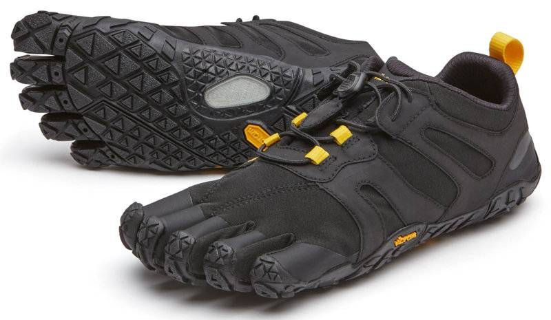 Fivefingers V-Trail 2.0 - scarpa trail running - donna - Black/Yellow