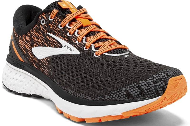 Brooks Ghost 11 - scarpe running neutre - uomo - Black/Orange