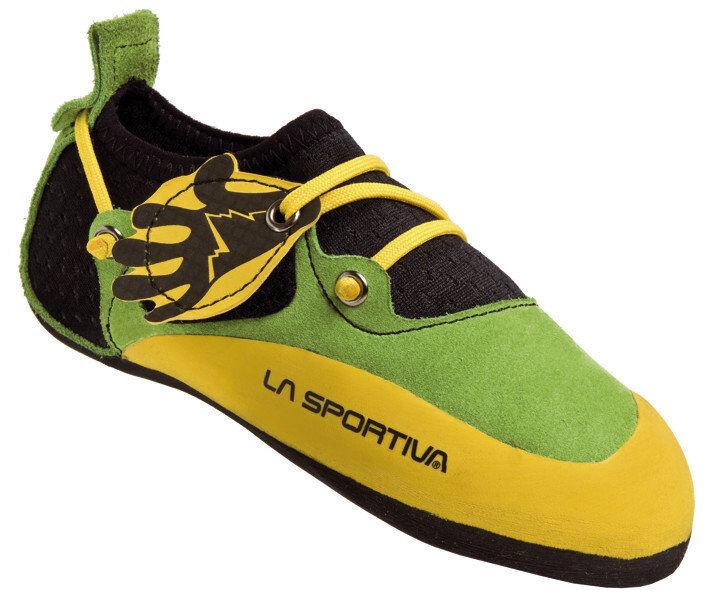 La Sportiva Stickit - scarpette da arrampicata - bambino - Green/Yellow