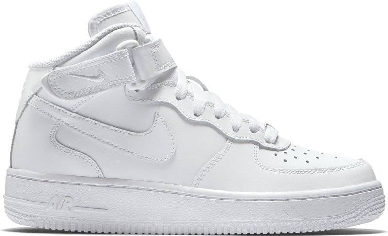 Nike Air Force 1 Mid (GS) - sneakers - bambino - White