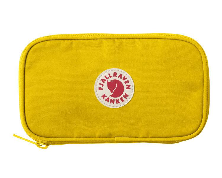 Fjällräven Kanken Travell Wallet - portafoglio da viaggio - Yellow