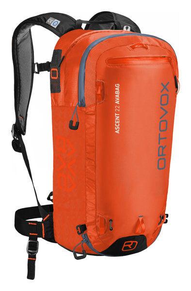 Ortovox Ascent 22 Avabag - zaino airbag - Orange