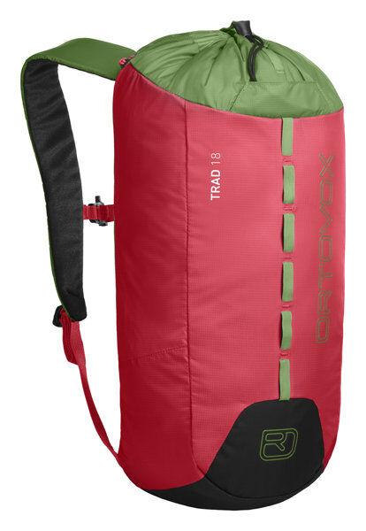 Ortovox Trad 18 - zaino per arrampicata - Hot Coral