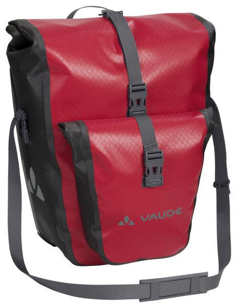 Vaude Aqua Back Plus - borsa bici posteriore (due borse) - Red