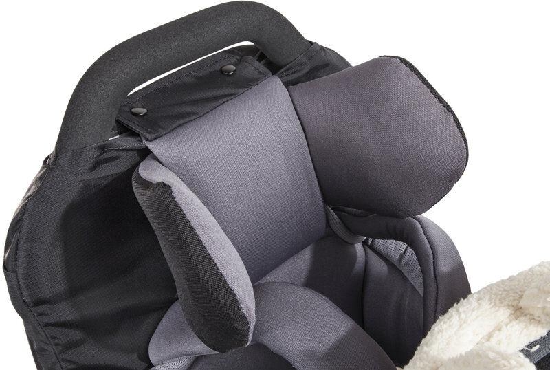Vaude Head Support - Zaino porta bambino - Anthracite