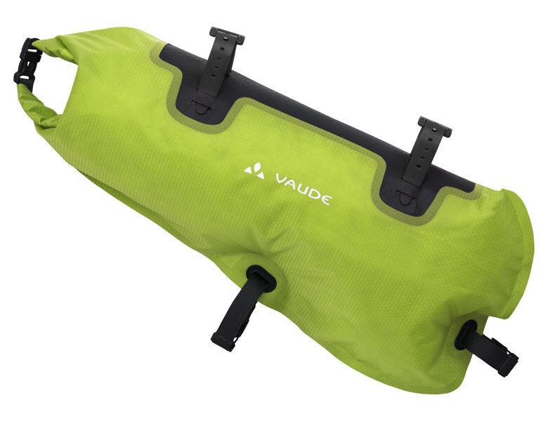 Vaude Trailframe - borsa telaio Bikepacking - Black/Green