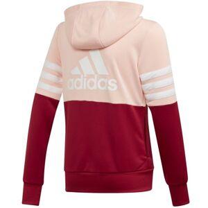 adidas Badge of Sports - tuta sportiva - bambino - Rose/Red