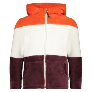 Meru Salem - giacca in pile - bambino - Brown/White/Red