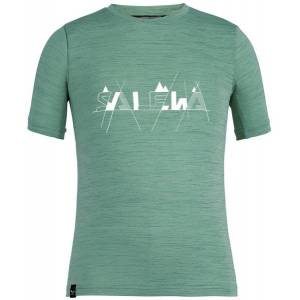 Salewa Graphic Dry K S/S - T-shirt - bambino - Green