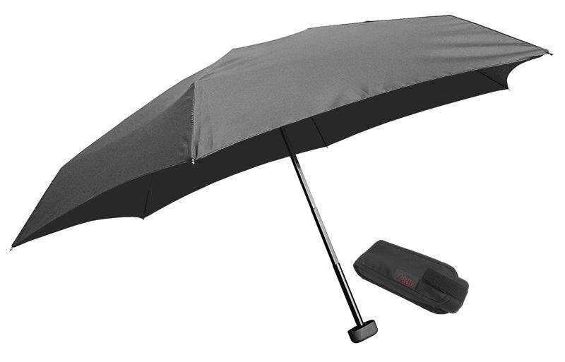 euroschirm dainty travel umbrella - ombrello mini - black