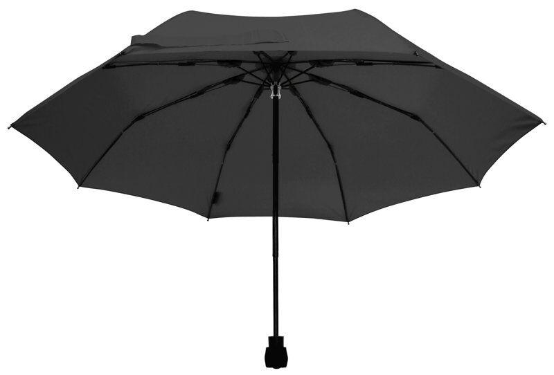 euroschirm light trek - ombrello - black