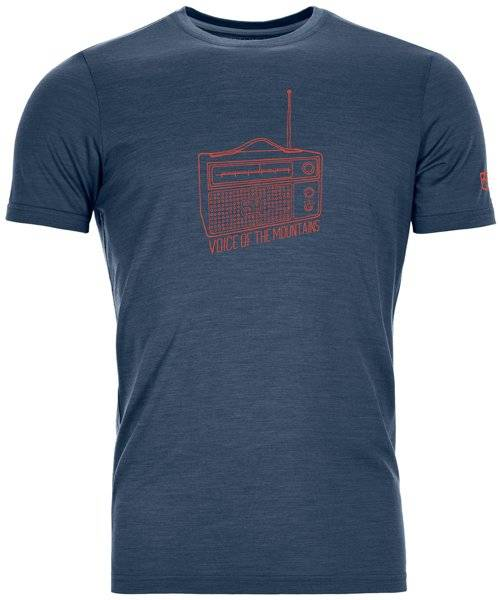 Ortovox 150 Cool Radio Ts - T-shirt - uomo - Blue