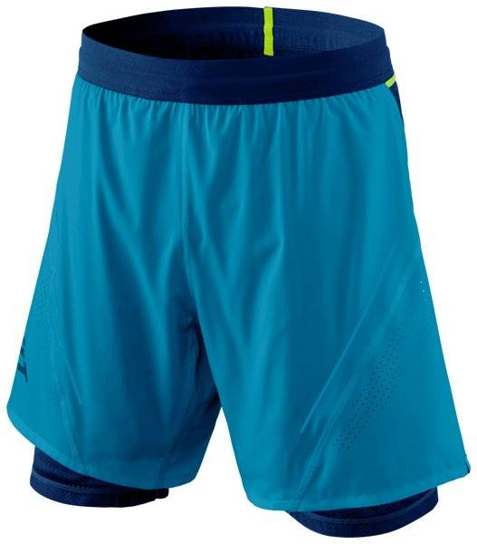 Dynafit Alpine Pro 2/1 - pantalone trail running - uomo - Light Blue/Blue