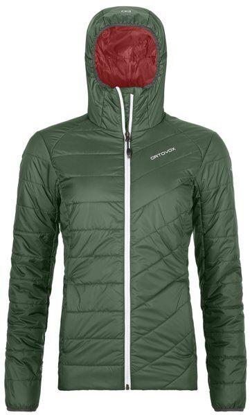 Ortovox Piz Bernina - giacca con cappuccio - donna - Green