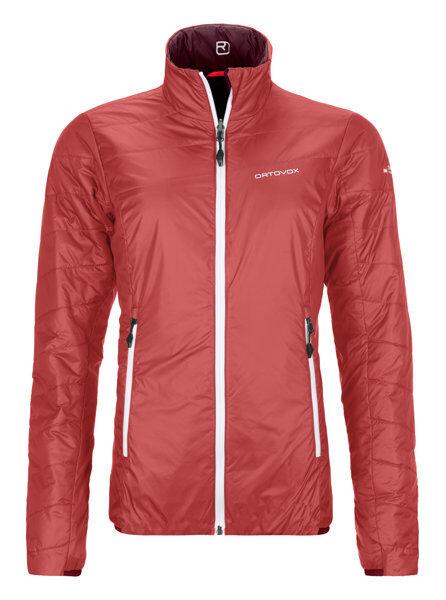 Ortovox Piz Bial - giacca sci alpinismo - donna - Red/Purple