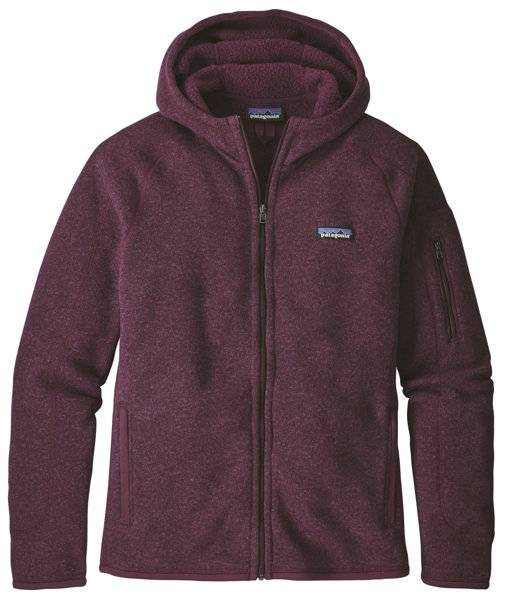 Patagonia Better Sweater - giacca in pile con cappuccio - donna - Red