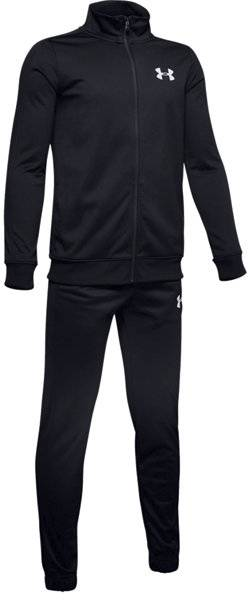 Under Armour Knit - tuta sportiva completa - ragazzo - Black