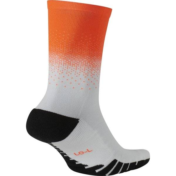 Nike Squad Crew - calzini da calcio - Orange/White/Black