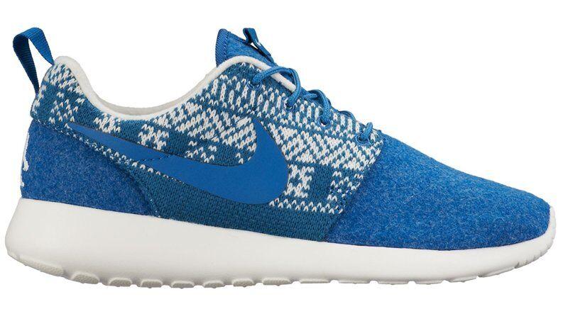 Nike Roshe One Winter W - scarpe da ginnastica - donna - Blue/White