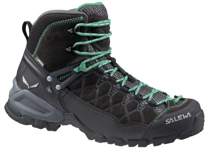 Salewa Alp Trainer Mid GORE-TEX - scarpe da trekking - donna - Black Out/Agata