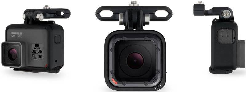 GoPro Pro Seat Rail Mount - supporto per sellino - Black