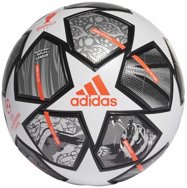 adidas Finale 21 20th Anniversary UCL League - pallone da calcio - White/Grey/Orange