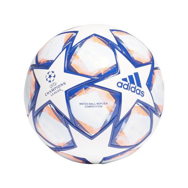 adidas UCL Finale 20 Competition - pallone da calcio - White/Blue/Orange