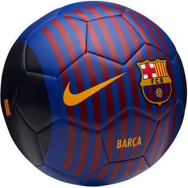 Nike FC Barcelona Prestige Fifa 18 - pallone da calcio - Blue/Red