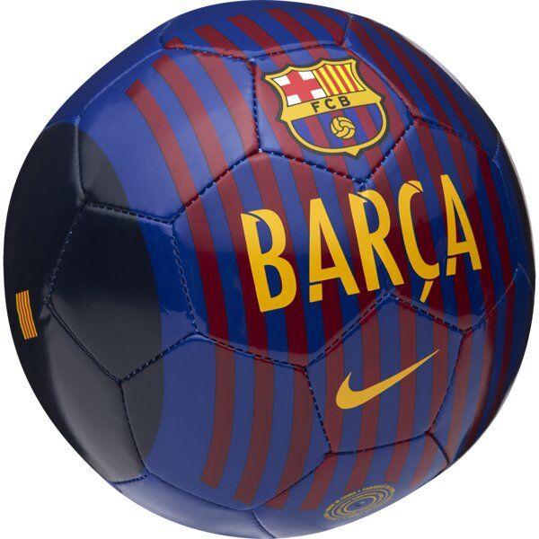 Nike FC Barcelona Skills - mini pallone da calcio - Blue/Dark Red
