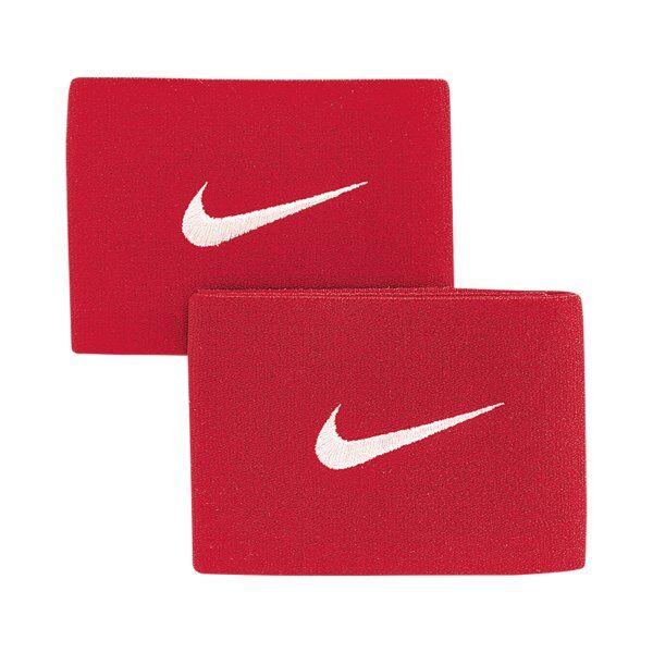 Nike Guard Stay II - fascia parastinchi da calcio - Red