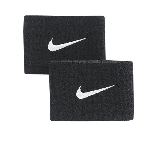 Nike Guard Stay II - fascia parastinchi da calcio - Black/White